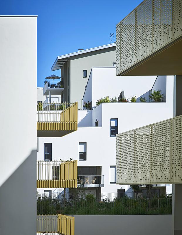 34 logements bellecour architectes. Black Bedroom Furniture Sets. Home Design Ideas