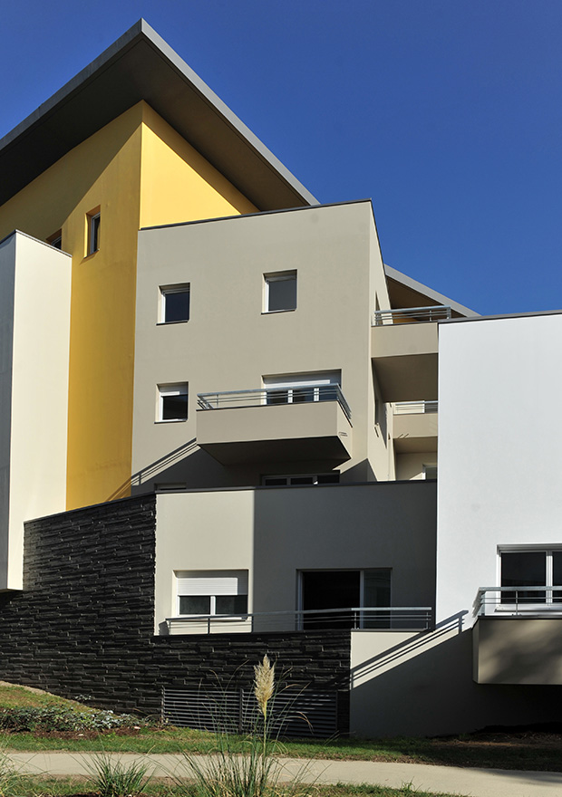 135 logements bellecour architectes. Black Bedroom Furniture Sets. Home Design Ideas