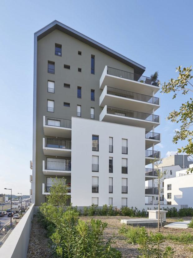 30 logements bellecour architectes. Black Bedroom Furniture Sets. Home Design Ideas