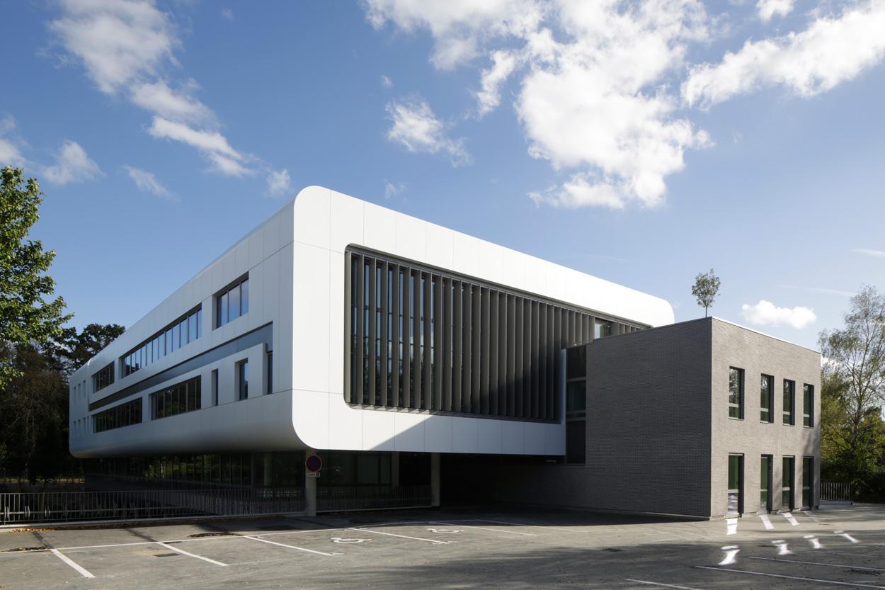 Maison de l 39 entreprise innovante bellecour architectes for Architecte val de marne