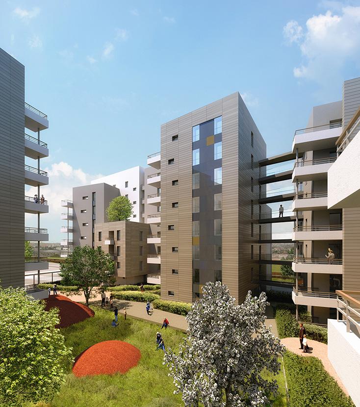Gentilly 120 logements